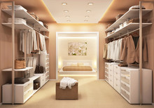 Dressing Room And Bedroom