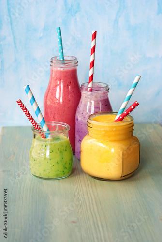 Foto op Plexiglas Milkshake Fresh smoothies