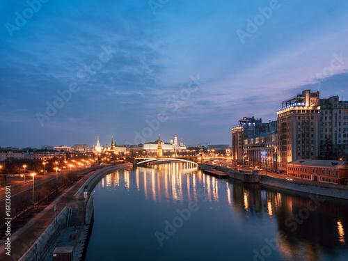 Keuken foto achterwand Noord Europa Moscow Kremlin at sunrise. Russia.