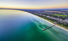 Aerial Panorama Of Beautiful O...