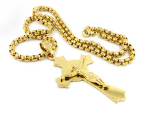 Pendant Necklace Cross - Rosary