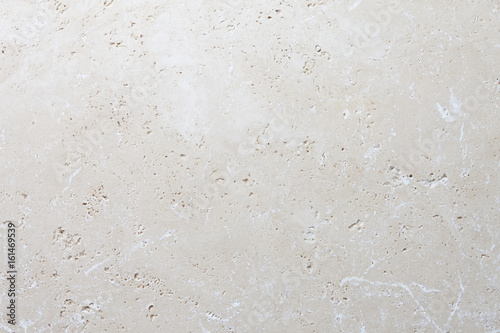 Deurstickers Stenen Beige stone background, natural travertine texture close up