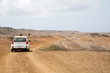 Auto in der Wüste - Curacao - Shete Boka National Park
