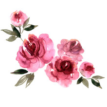 Cute Watercolor Hand  Painted ...