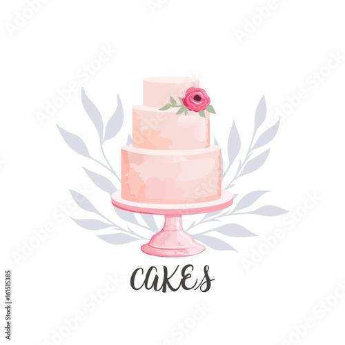 Photographie cake logo