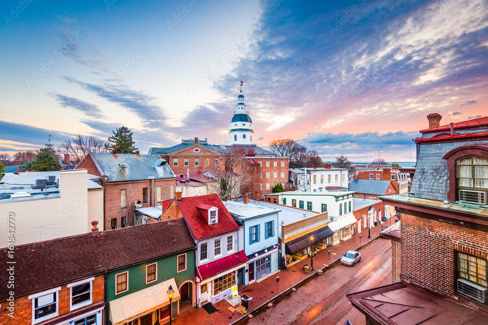 Fototapety, obrazy: Annapolis, Maryland, USA