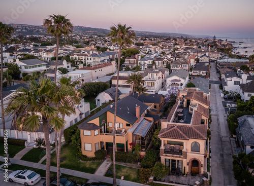 Fotomural Aerial of Newport Beach Corona Del Mar