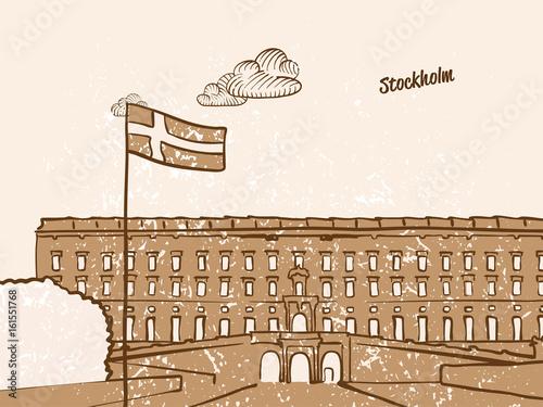 Photo  Stockholm, Sweden, Greeting Card