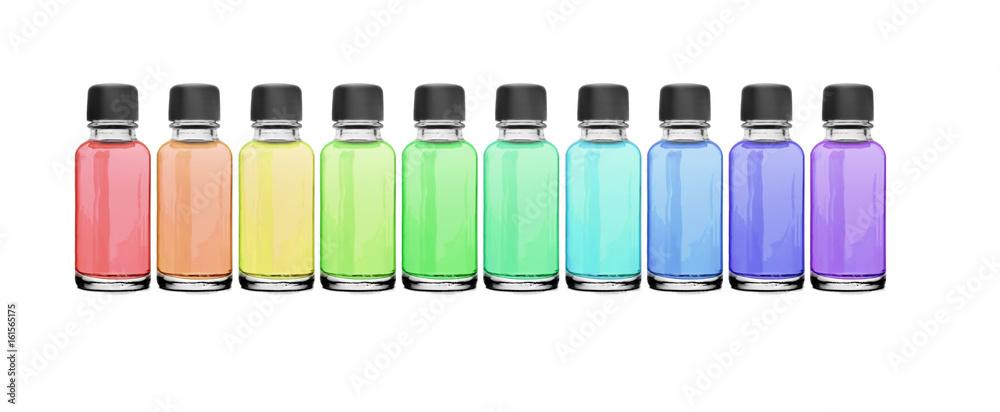 Fototapety, obrazy: Farbflaschen