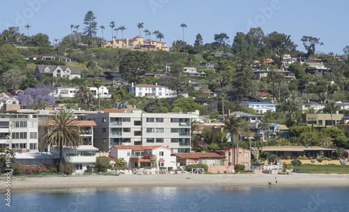 Aluminium Prints New Zealand View of La Playa from Pacific Rim Park, San Diego, California