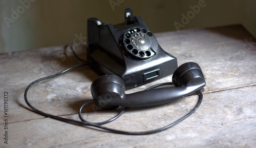La nostalgia dei vecchi telefoni Wallpaper Mural