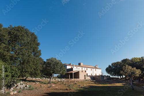 Fototapeta Maristella Ermitage in Esporles. Mallorca obraz na płótnie