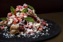 Greek Tacos Salad