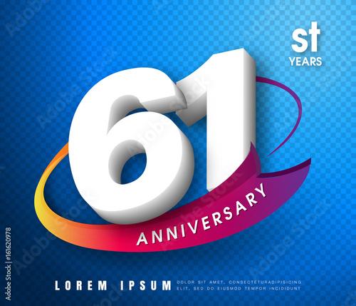 Papel de parede  Anniversary emblems 1 anniversary template design