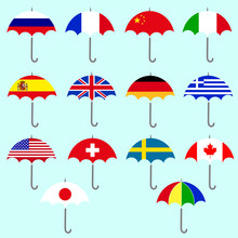Flags Umbrella