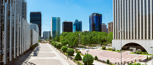 In de dag Madrid Panoramic view of Business park, Madrid