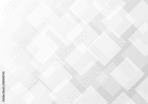 Obraz Abstract gray transparent square background - fototapety do salonu