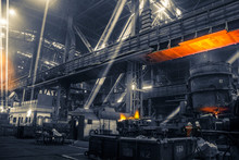 Iron And Steel Works Factory W...