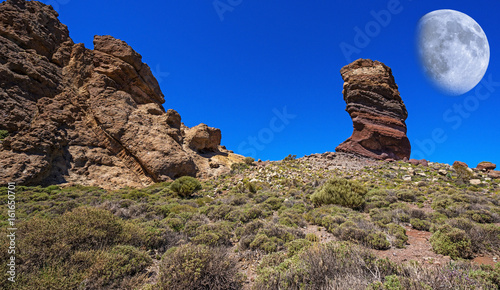 In de dag Canarische Eilanden Teide - National Park, Tenerife, Canary Islands