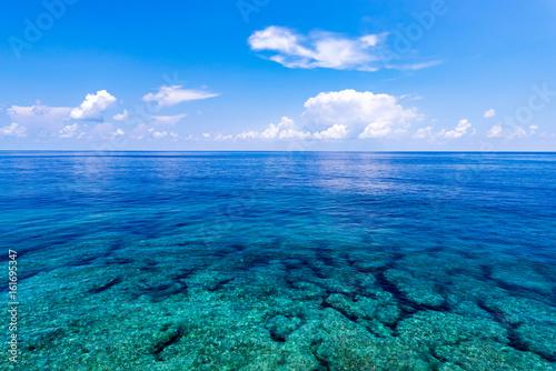 Morze, rafa Okinawa, Japonia, Azja.