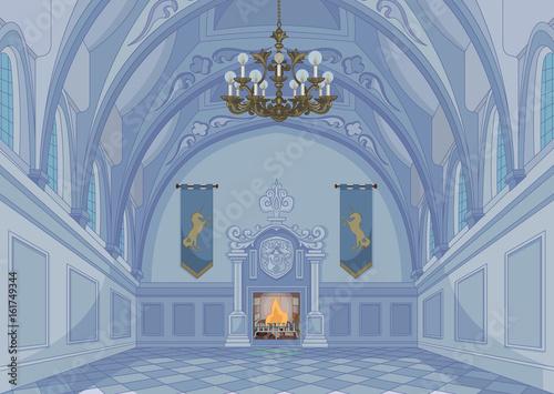 In de dag Sprookjeswereld Castle Hall