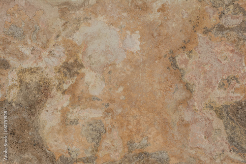 Deurstickers Oude vuile getextureerde muur Cracked vintage wall background, old surface wall