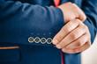 Blazer Closeup Texture Detail Textile Blue Tuxedo Suit Professio
