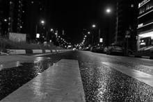 Night City. Asphalt In Focus I...