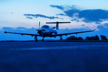 Single Turboprop Aircraft On E...