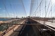 Brooklyn Bridge: view of vehicle roadway