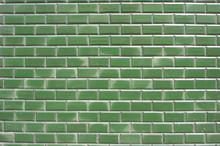 Glossy Green Bricks