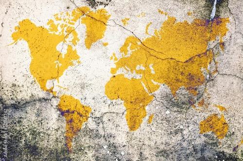 zolta-mapa-swiata