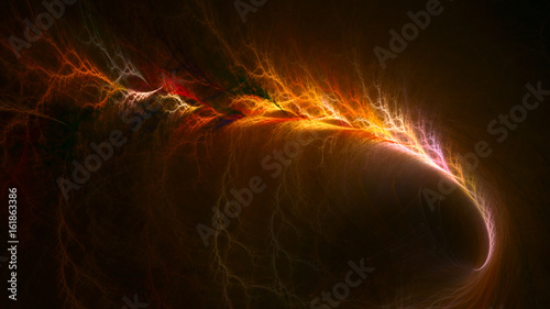 Firestorm Canvas Print