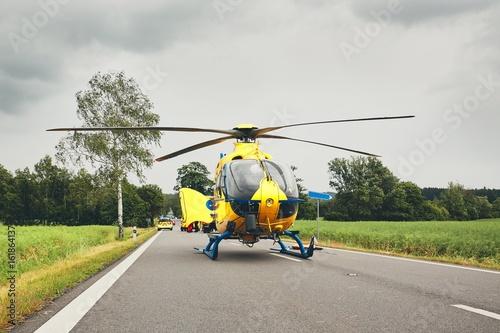 Türaufkleber Hubschrauber Emergency medical service