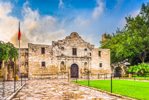 Photo The Alamo in San Antonio, Texas, USA.