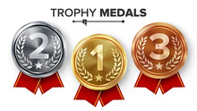 Gold, Silver, Bronze Medals Se...