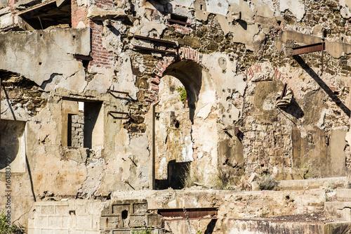 Archeologia industriale: miniera di Ingurtosu, Arbus, Montevecchio, Sardegna Wallpaper Mural