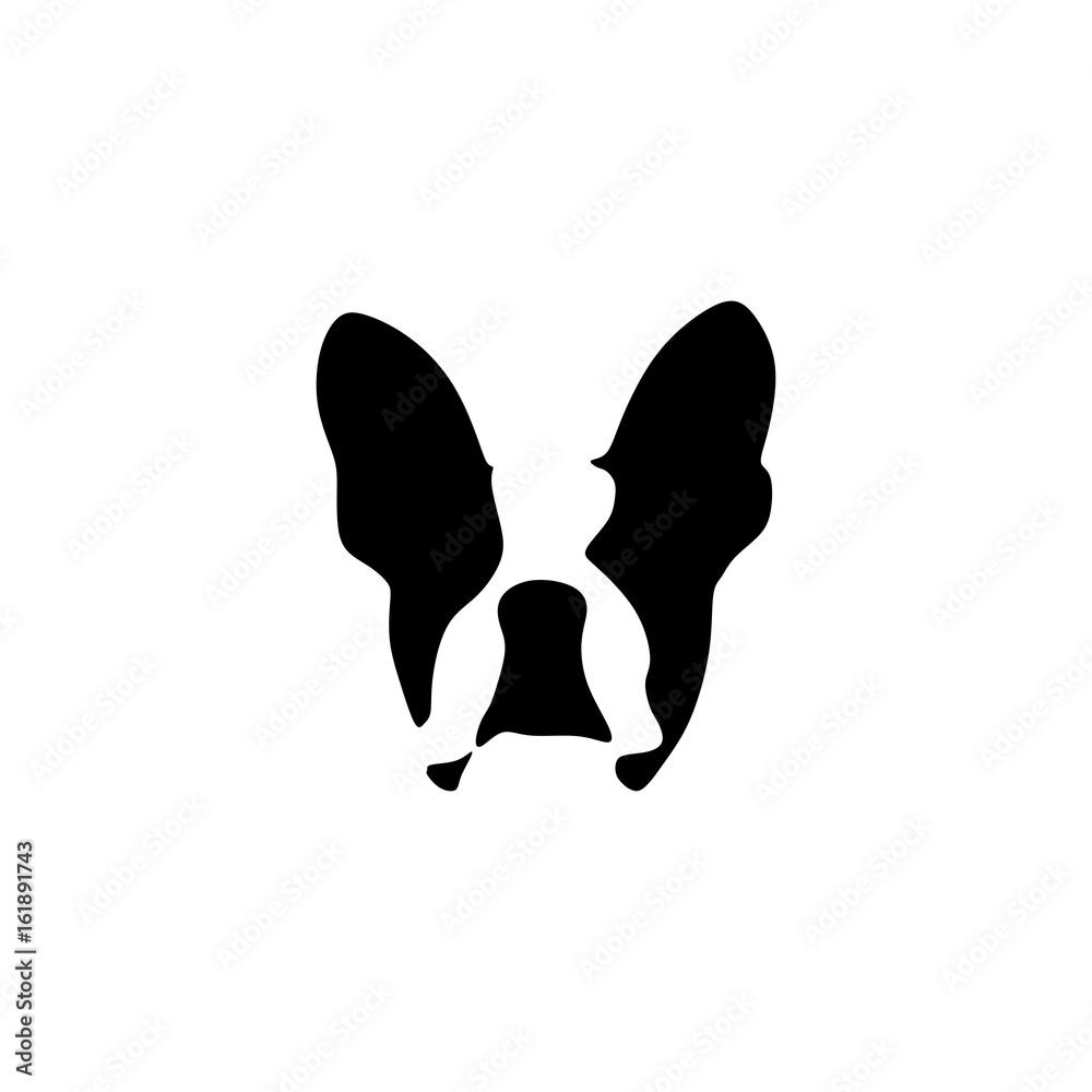 Fototapety, obrazy: French bulldog vector illustration