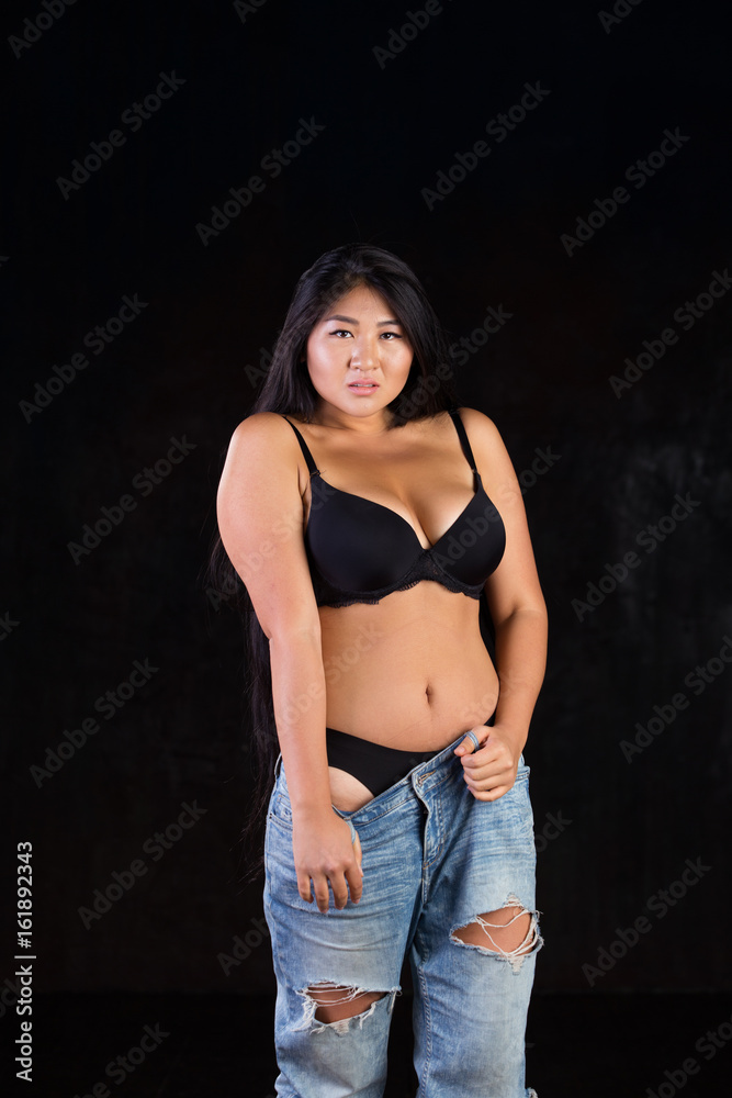 Curvy asian girls