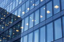 Office Building Windows With I...