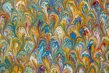 Marbled Paper In Wide Range Of Colors