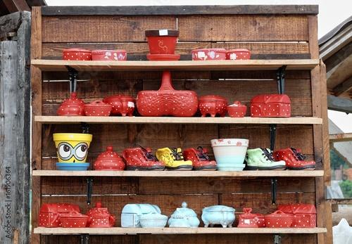 Photo Ceramics Souvenir In Serbia