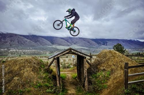 Kamloops Bike Ranch, British Columbia, Canada Canvas Print