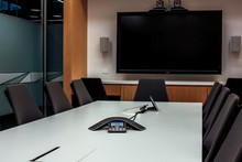 Empty Video Conference Meeting...