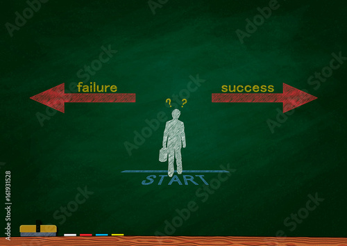 Success or failure? Canvas Print