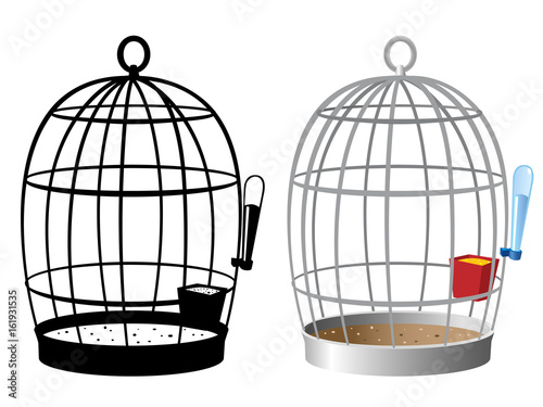 Fotografie, Obraz  Bird Cages
