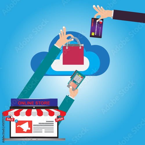 E-Commerce web site of online shop for buy and sale from