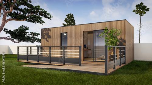 Photo Studio de jardin PMR 3d