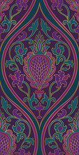 Elegant Purple Pattern.