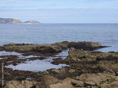Playa de Malpica de Bergantiños / Beach of Malpica de Bergantiños. La Coruña